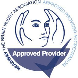 The Headway Approved Provider accreditation logo