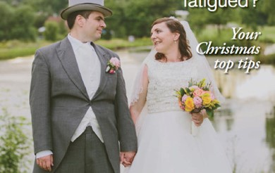 Headway News winter 2016 features Christina and Joe on their wedding day, after finding love at Headway.