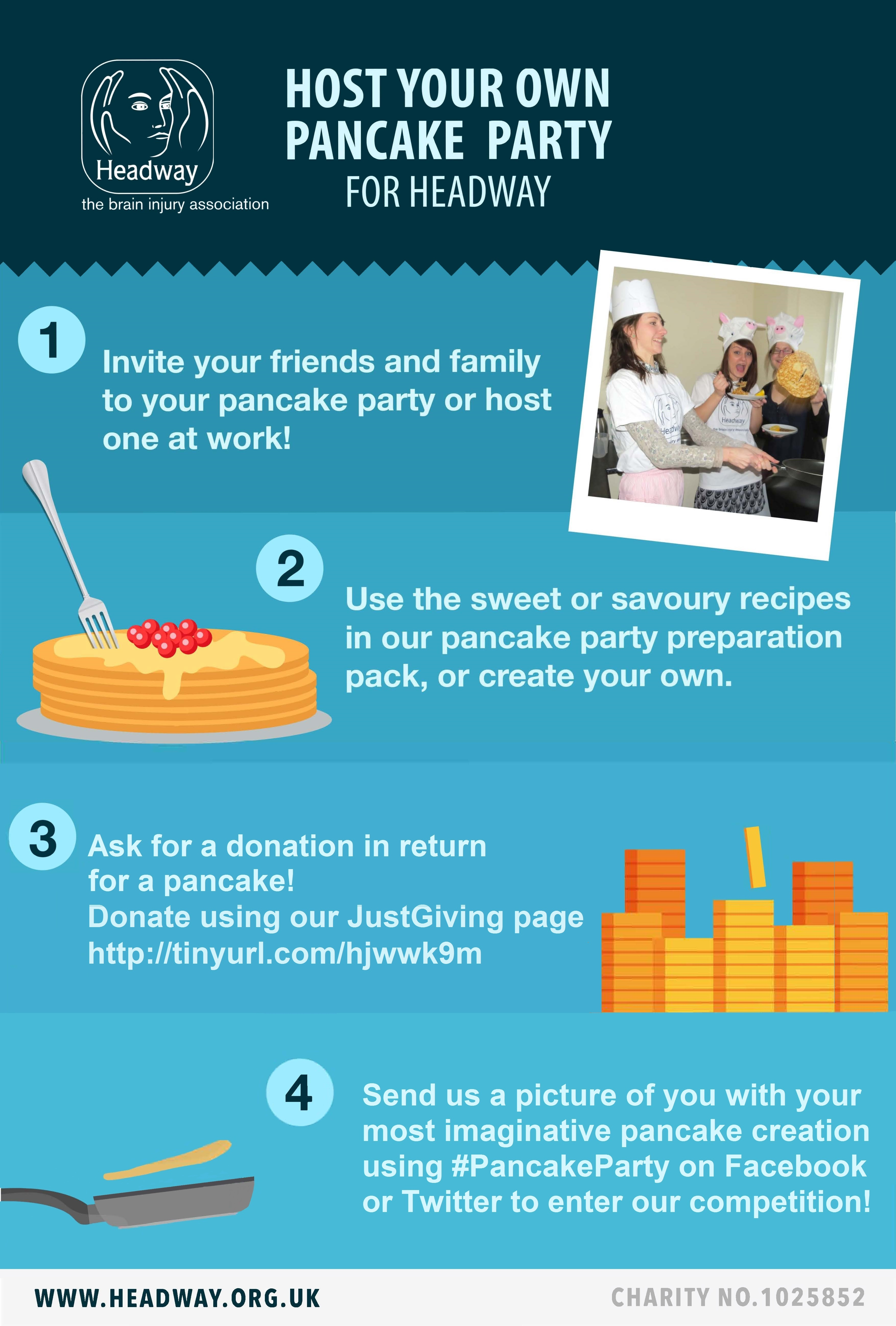 Pancake Party Poster