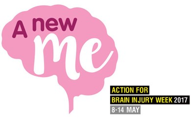 'A New Me' - Action for Brain Injury Week 2017, 8-14 May