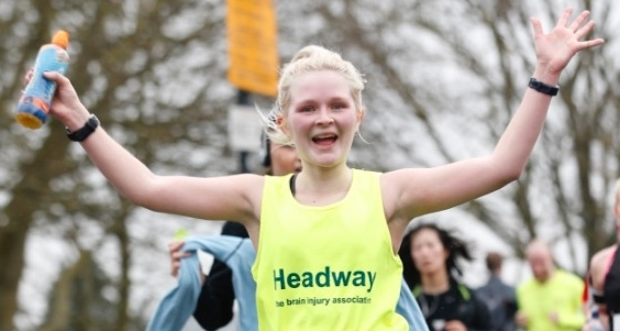 Siobhan Sharp runs for Headway
