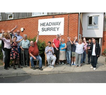 Headway Surrey achieves The Queen's Award for Voluntary Service 2017 Main Image
