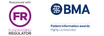 Registered with the Fundraising Regulator. BMA Patient Information Awards Highly Commended