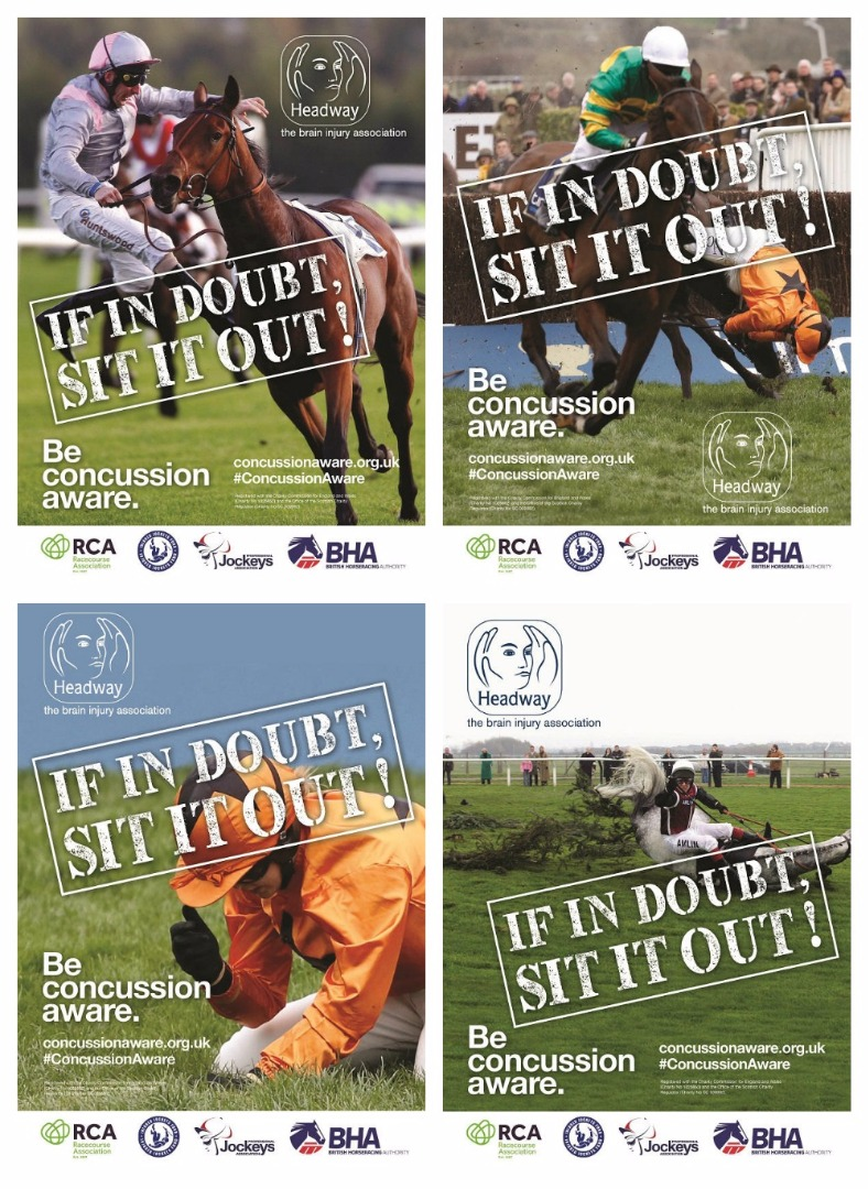 If in doubt, sit it out - concussion awareness posters