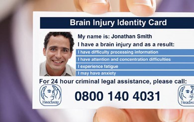 The Headway Brain Injury Identity Card