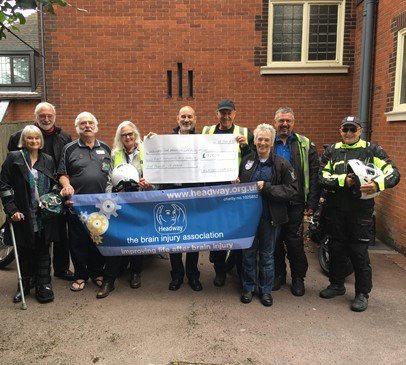 Bikers take to the road to raise funds for Headway Main Image