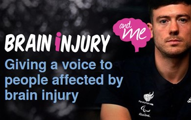 Brain injury and me. Giving a voice to people affected by brain injury.