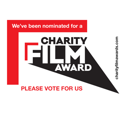 Vote for us in the Charity Film Awards Main Image