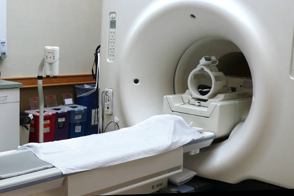 Image of an MRI scanner