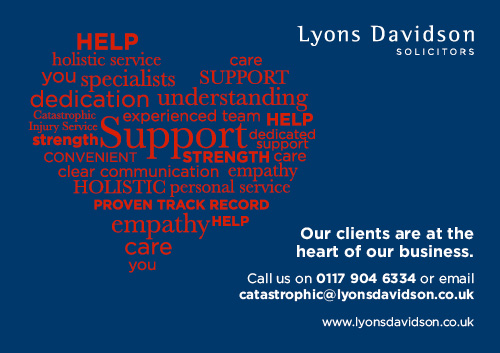 Lyons Davidson advert
