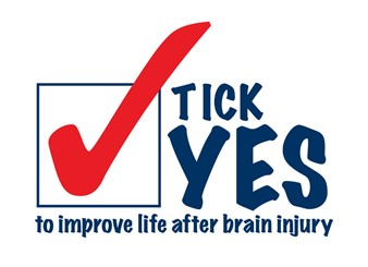 Tick Yes to improve life after brain injury