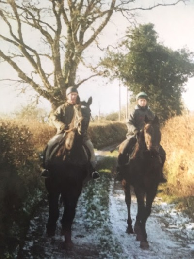 Horse riding was a huge part of Jules' relationship with her father before his stroke