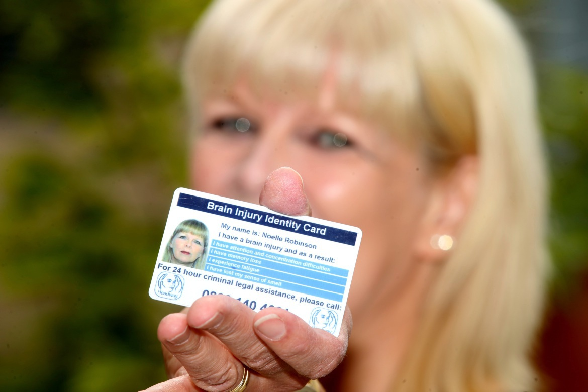 A Headway Brain Injury Identity Card