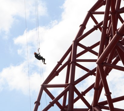 Supporters go over the edge to raise £18,000 for Headway Main Image