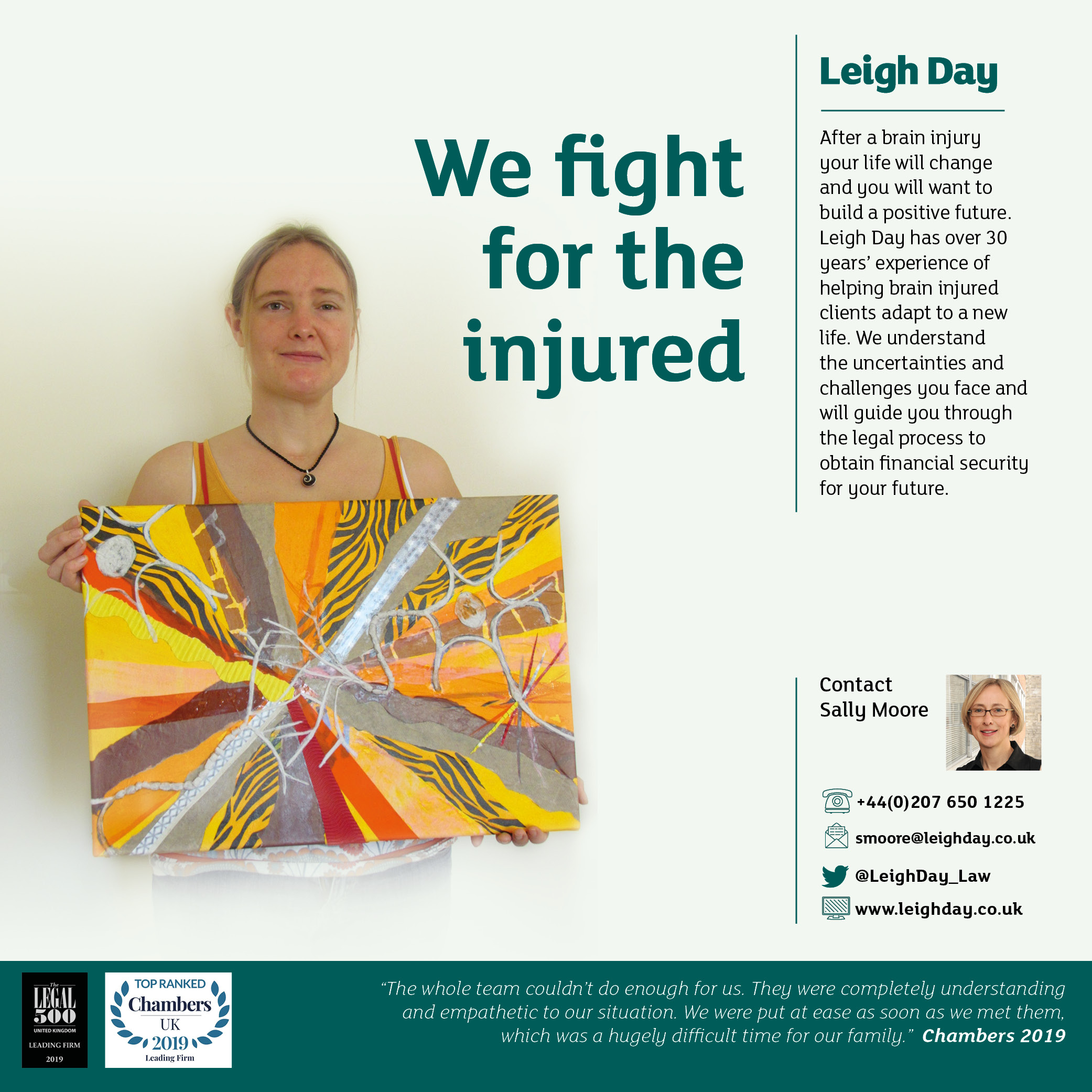 Leigh Day Advert