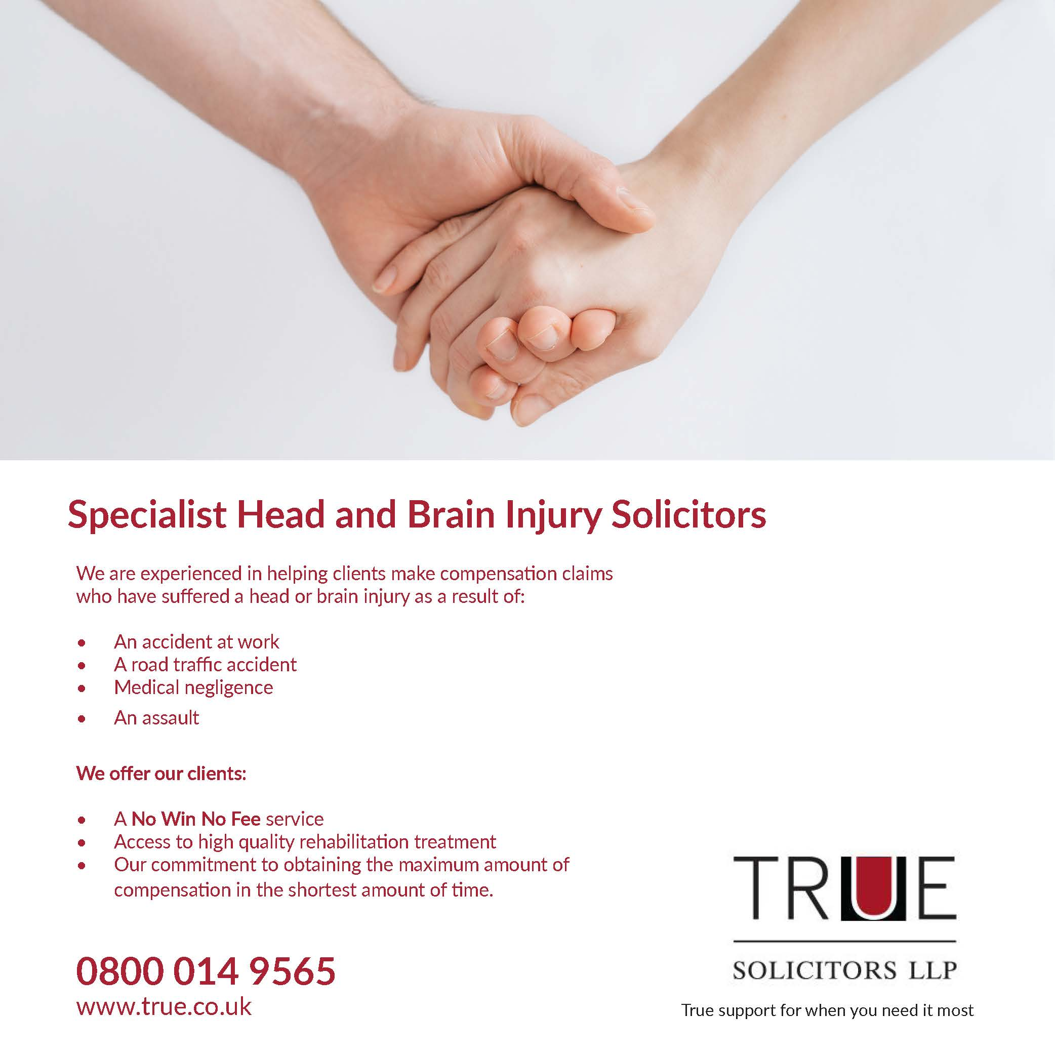 True Solicitors Advert