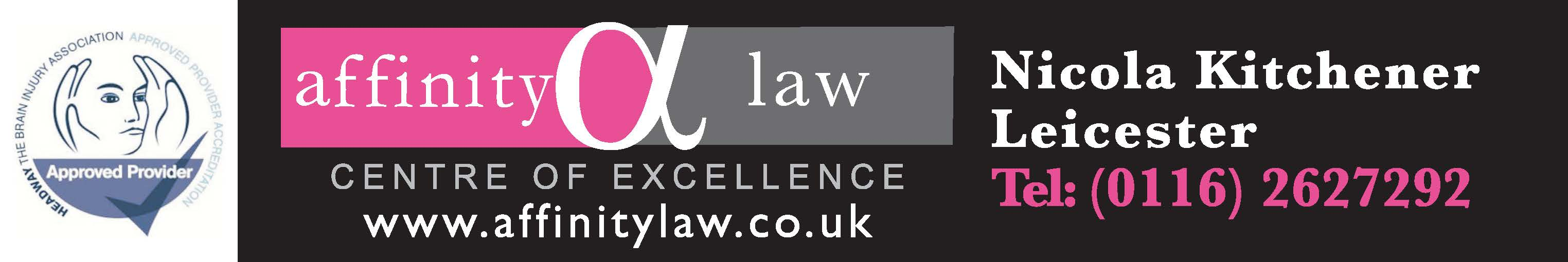 Affinity law banner