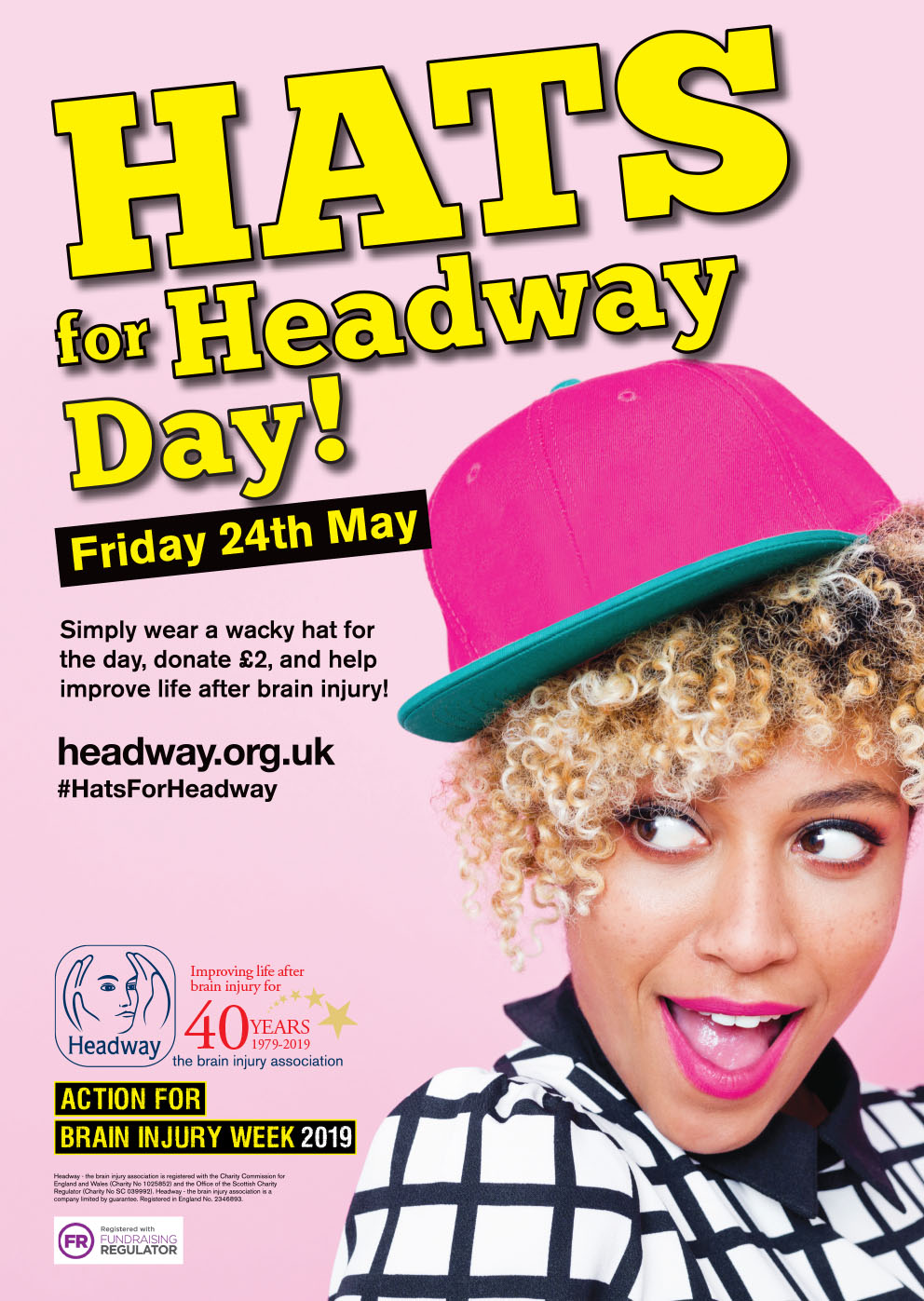 Hats For Headway Day Headway
