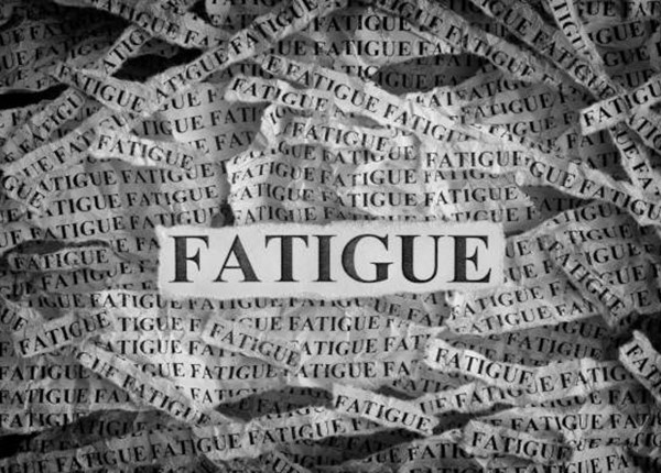 Early warning signs of fatigue