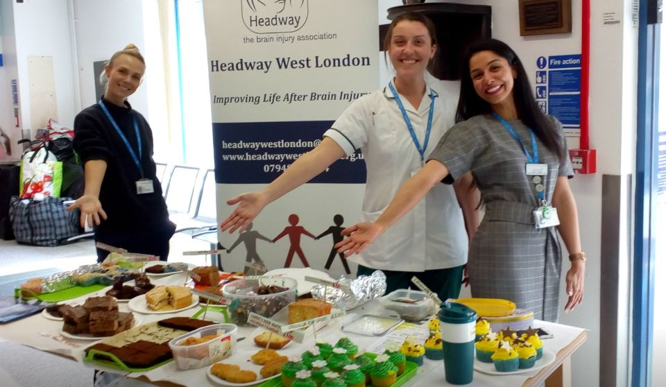 Tasty treats courtesy of Headway West London