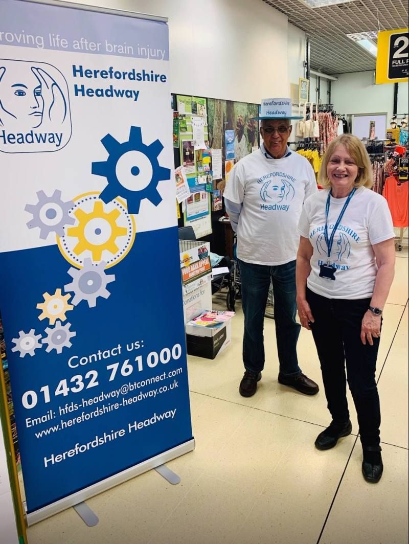 The Herefordshire Headway team