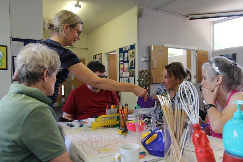 Headway Oxfordshire workshop