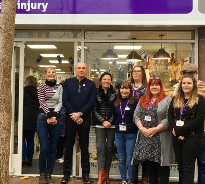 Brain injury survivor opens new Beeston charity shop Main Image